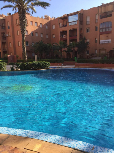 Apartment With 2 Bedrooms in Mohammédia, With Wonderful sea View, Shared Pool, Furnished Garden - 200 m From the Beach, Ben Slimane