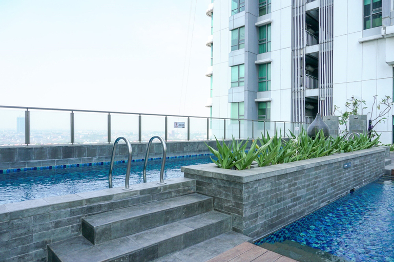Good Location and Cozy 2BR St. Moritz Apartment By Travelio, West Jakarta