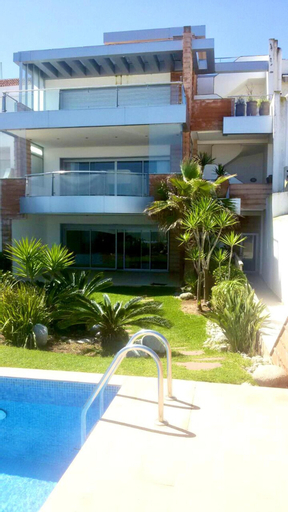 Villa With 12 Bedrooms in Bouznika, With Wonderful sea View, Private Pool, Enclosed Garden, Ben Slimane