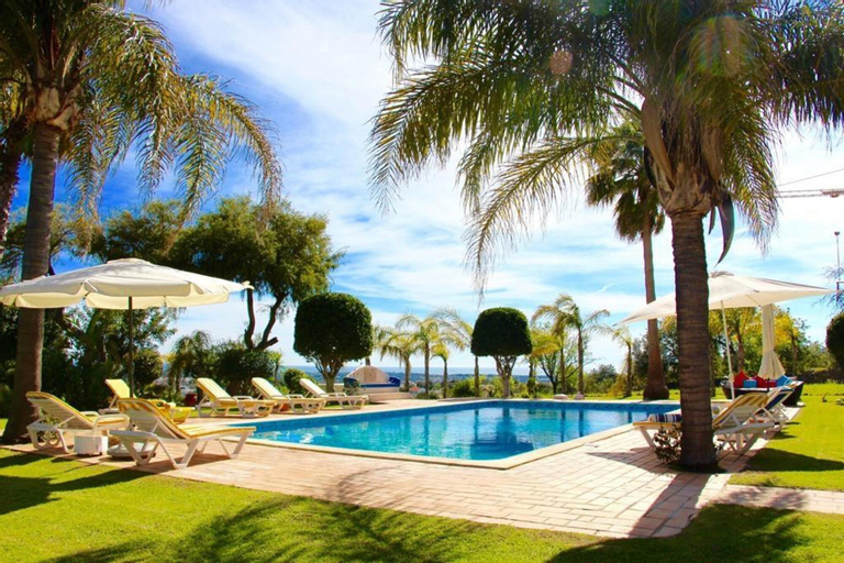 Villa With 6 Bedrooms in Loulé, With Wonderful sea View, Private Pool and Wifi - 12 km From the Beach, Loulé