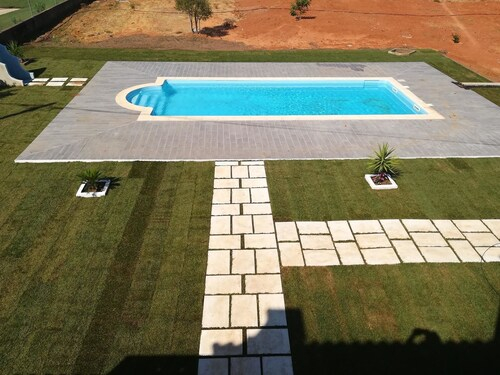 Bungalow With 2 Bedrooms In Olhao, With Wonderful Mountain View, Pool Access, Furnished Garden, Olhão