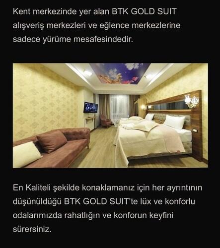 BTK GOLD SUIT HOTEL, Merkez