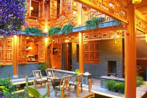 Cheng Garden Red Wood Courtyard, Yangzhou