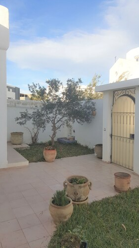 Villa With 6 Bedrooms In Yasmine Hammamet, With Wonderful City View, Private Pool And Terrace - 500 , Bouficha
