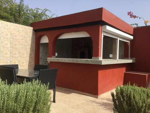 Villa With 4 Bedrooms In Oulad Teima, With Wonderful Mountain View, Private Pool, Enclosed Garden - , Taroudannt
