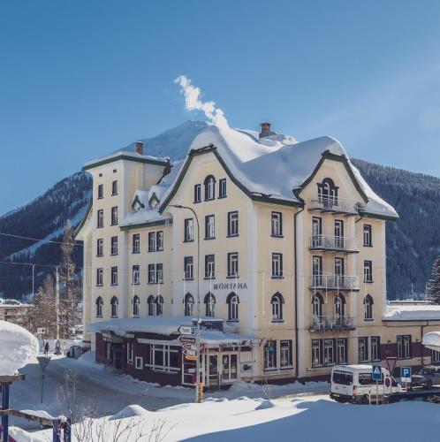 Ski & Bike Hotel Montana, Prättigau/Davos