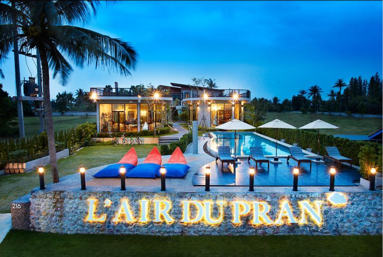 L'air Du Pran Resort, K. Sam Roi Yot