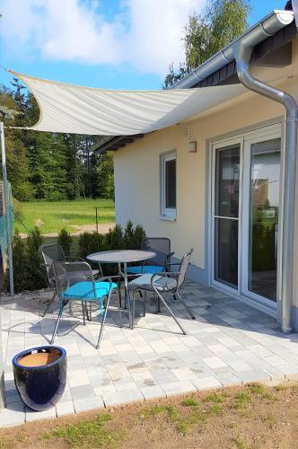 Ferienhaus Paula am Klostersee, Urlaub mit Hund, Mecklenburgische Seenplatte