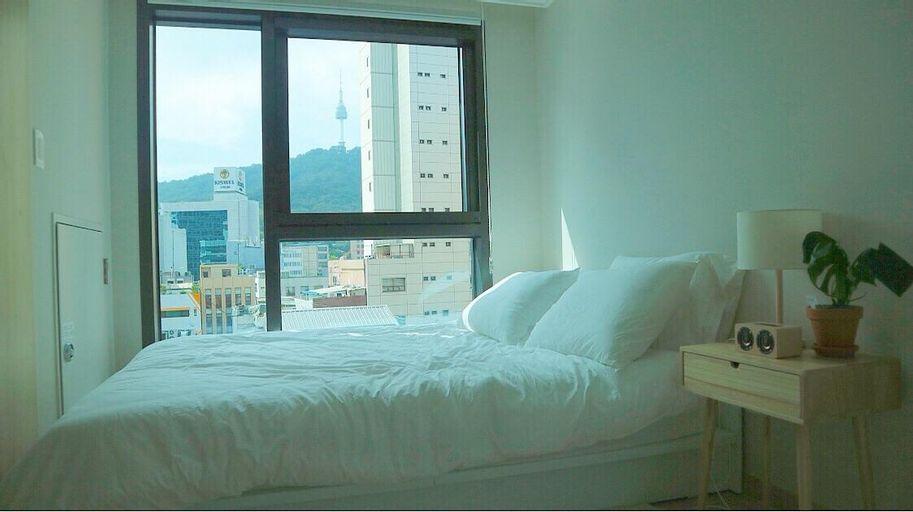 Myeongdong  street, N-Seoul Tower view! ,Free wifi, Jung