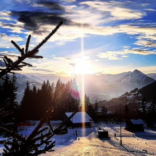 Chalet Lilo 2 Zimmer top mountain view, Interlaken