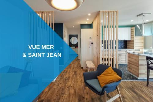 Ilunabarra - Appartement Calme, Vue Mer, Parking - WiFi & Netflix, Pyrénées-Atlantiques