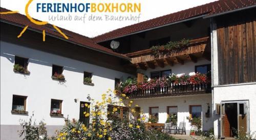 Woferlhof, Ferienhof Boxhorn, Regen