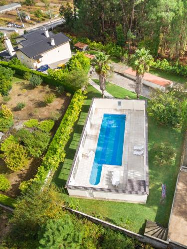 Mansion with 7 bedrooms in Valenca with wonderful sea view private pool enclosed garden 32 km from t, Valença