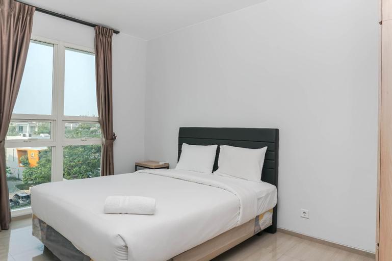 1BR Luxury Citra Lake Suites Apartment By Travelio, Jakarta Barat