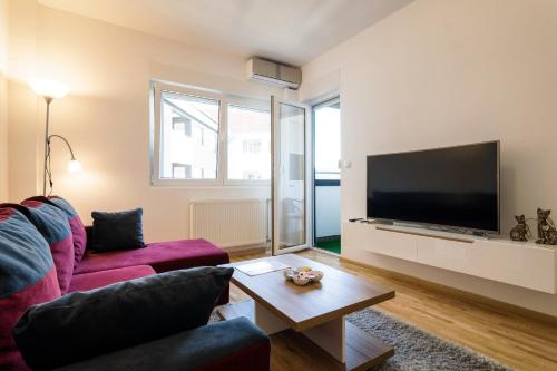 CENTER - PARKING - free private Apartment Jakov, Niš