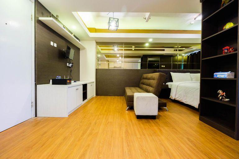 Nice Studio at Green Pramuka Apartment By Travelio, Central Jakarta