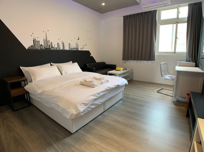 Chill Space Grey Studio Apartment, Hsinchu City