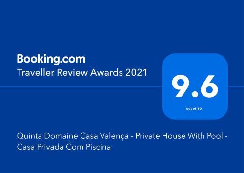 Quinta Domaine Casa Valenca - Private House With Pool - Casa Privada Com Piscina, Tabuaço