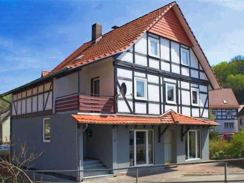 Charming Holiday Home With Roof Terrace In Hessen, Werra-Meißner-Kreis