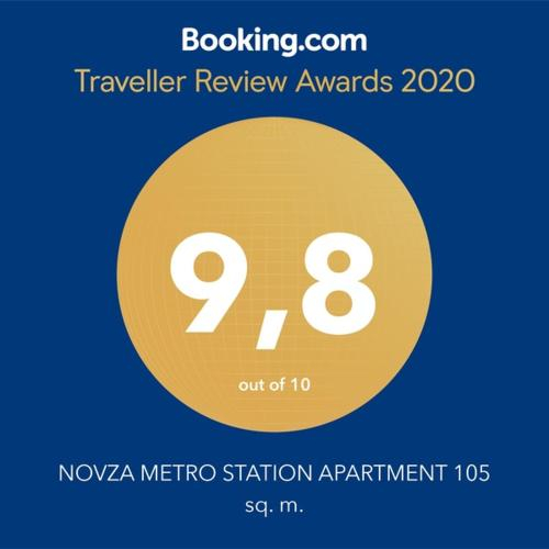 NOVZA METRO STATION APARTMENT 105 sq. m., Tashkent City