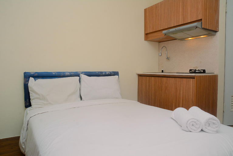 Comfy and Beautiful Studio Green Pramuka Apartment By Travelio, Central Jakarta