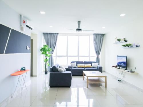 i-HOME 002 Zetapark @ Setapak Central Mall - 3 Bedroom Family Suite, Kuala Lumpur