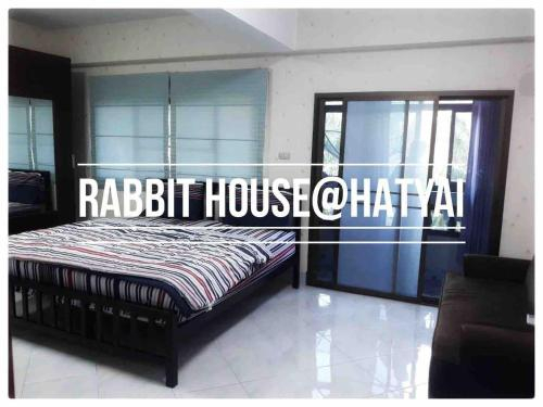 Rabbit H1 Leegarden4.8 Km by Car Wifi 200Mb 4 Room, Hat Yai