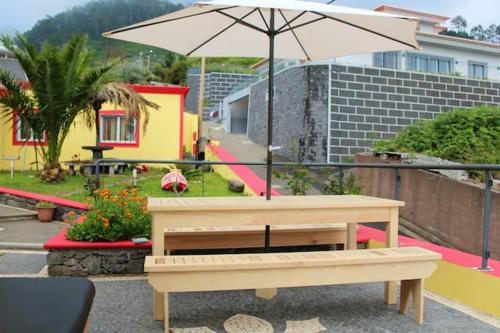 House with 2 bedrooms in Arco Da Calheta with shared pool and WiFi, Calheta