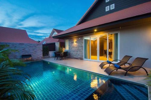 AnB Grand plus poolvilla 3BR for 6-8pax - Jomtian beach, Bang Lamung