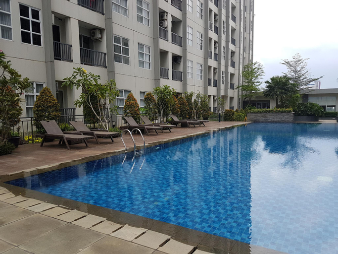 Minimalist Studio Saveria Apartment By Travelio, Tangerang Selatan