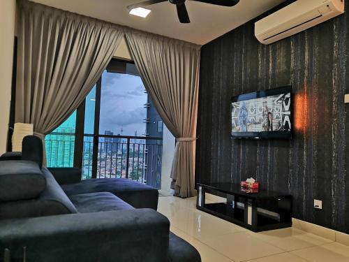 Spacious City View 3 Rooms Stylish Unit at Kuala Lumpur KL Traders Square, Setapak, Gombak, 8 min to, Kuala Lumpur