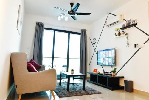 Beautiful Relaxing Home in SkyArena Ascenda (3-6pax), Kuala Lumpur