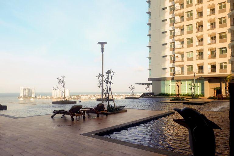 Coolest 2BR Green Bay Condominium Apt By Travelio, North Jakarta