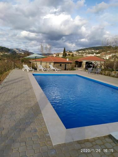Villa with 5 bedrooms in Fornos with wonderful mountain view private pool furnished terrace, Castelo de Paiva
