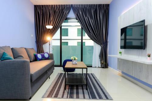 Cozy & High Floor Suite in Suasana JB 15, Views, Johor Bahru