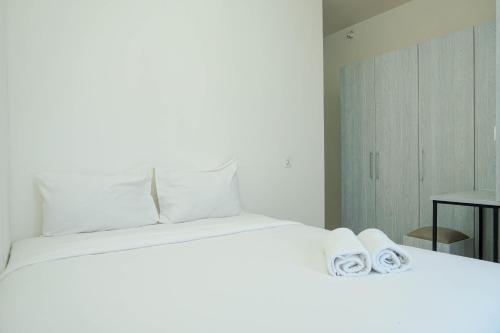 Comfy 1BR Teluk Intan Apartment By Travelio, North Jakarta
