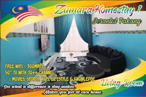 Zumara Homestay Jerantut Pahang, Jerantut