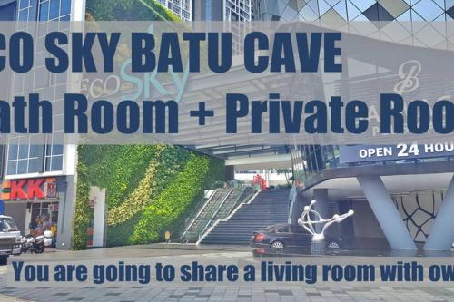 Lovely Eco Sky, Batu Cave SHARED living ROOM (you have a master room), Kuala Lumpur