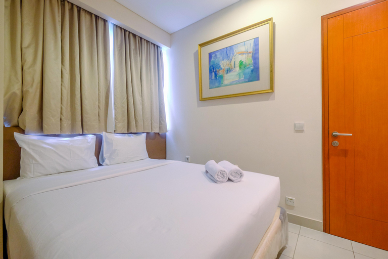 Best Choice 2BR Kuningan Place Apartment with Private Balcony By Travelio, South Jakarta