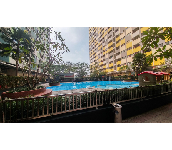 2BR Modern Furnished Apartment Sentra Timur By Travelio, East Jakarta