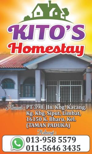 Kito's Homestay PASIR TUMBOH, Kota Bharu