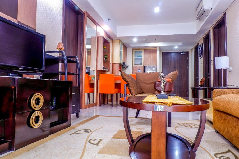 2BR Kemang Village Residence Apartment By Travelio, South Jakarta