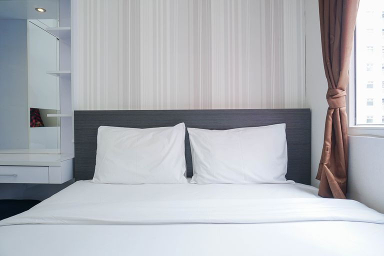 Cozy Living Green Pramuka City 2BR Apartment near Shopping Mall By Travelio, Central Jakarta
