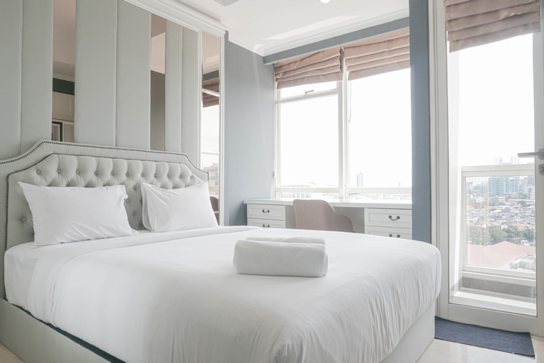 Comfy and Wonderful Studio Menteng Park Apartment By Travelio, Central Jakarta