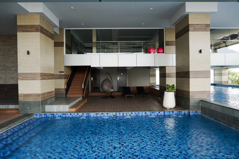Wonderful 3BR Apartment at Maqna Residence By Travelio, West Jakarta