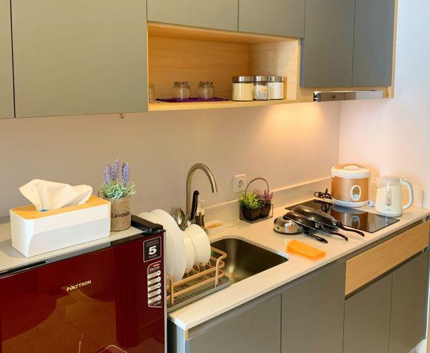 "Lux Studio at Taman Anggrek Residence - WIFI^NETFLIX^BIG SMART TV55"" POOL VIEW, West Jakarta"