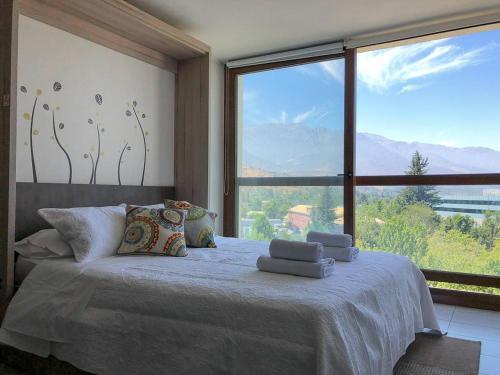 Charming Studio - w/Mountain View, Pool, & Gym, Santiago