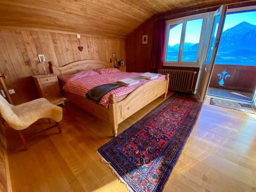 Otium - Romantic chalet with best lake view, Thun