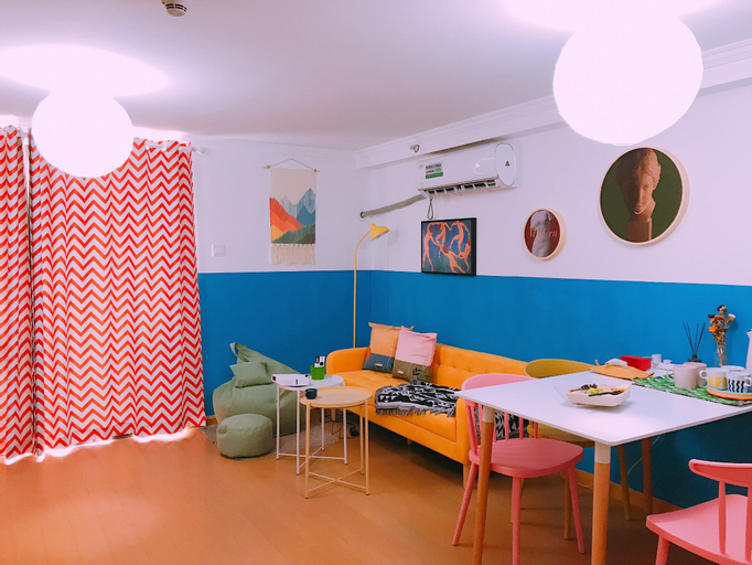 Two-rooms apartment opposite IKEA, Kazimen, Nanjing