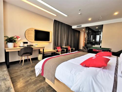 Thank Inn Chain Hotel Guangan Huaying Phoenix City, Guang'an